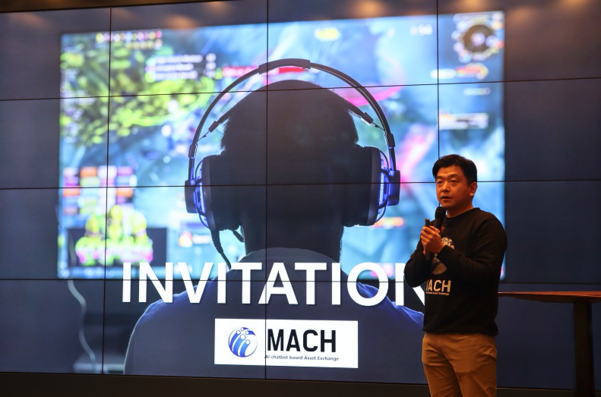 P2P Exchange, MACH, held Meetup